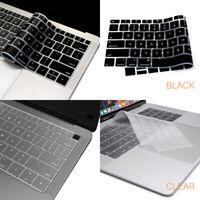 2 pack Keyboard Cover skin for MacBook Pro Air Retina 2016 2017 2018 2019 13 15