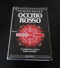 Occhio rosso - Richard Aellen - Prima Edizione Longanesi La Gaja Scienza -
