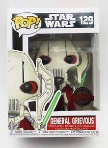 Funko POP! Star Wars General Grievous #129 (Licensed) Special Edition Exclusive