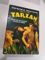 Dvd  lote Tarzan  6 peliculas y mas de johny weissmuller
