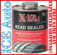 XTRA SEAL Tire Bead Sealer 32 oz Black w/Brush Top Can PRO Quart X-Tra