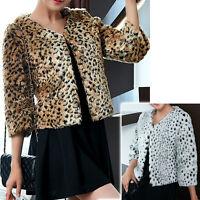 New Womens Warm Top blouse Cardigan Dress Jacket AU size 10 12 14 16 18 #4259