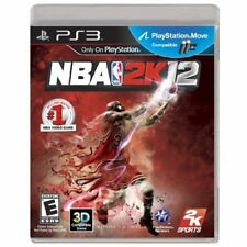NBA 2K12 For PlayStation 3 PS3 Basketball Very Good 9E