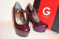 G BY Guess Womens NWB Dark Purple Varika Heels Shoes 7 MED NEW