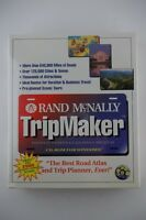 Vintage 1994 Rand McNally Tripmaker Software on CD-ROM, NEW SEALED! NOS