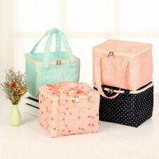 Portable Storage Box Insulated Thermal Lunch Bag Waterproof Outdoor Picnic Case