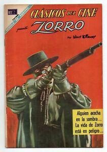 CLASICOS del CINE #190 Zorro, Novaro Mexican Comic 1968