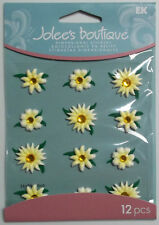 Daisies 12 Pcs Dimensional Stickers Jolee's Boutique Free Shipping NIP