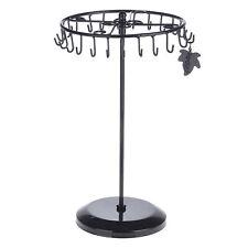 Black Rotating Necklace Holder Bracelet Stand / Jewelry Organizer / Jewelry Tree
