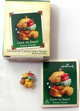 Hallmark 2005 Miniature Collector's Series Love to Shop Forever Friends #2