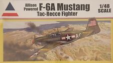 Accurate Miniatures 480017: 1/48 F-6A Mustang Tac-Recce Fighter Allison Powered