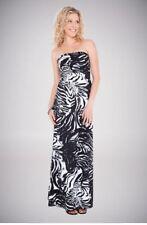 Animal Print Regular Machine Washable Maxi Dresses for Women