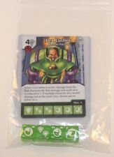 DC Dice Masters World's Finest * Lex Luthor * Set Uncommon Common + 4 Dice