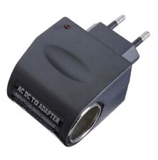 Adaptateur Convertisseur Allume Cigare Voiture Transformateur Tension 220V/12V *