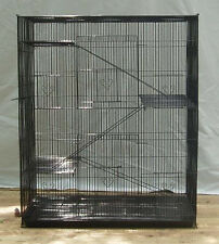 NEW Large 4 level Rat Ferret Chinchilla Sugar Glider Mice Animal Cage BLK 566