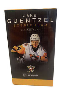 Jake Guentzel Bobble Head (Limited Edition) WB/Scr Penguins
