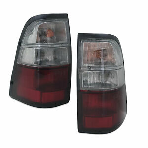 Tail Lights PAIR fits Holden Rodeo 2000 - 2002
