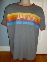 Disney Parks Disneyland Resort Retro Ringer T-Shirt Large L