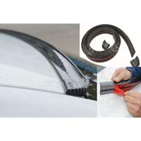 Universal Carbon Fiber Car Rear Wing Lips Spoiler 4.9FT 3D Luxury Kit Tail Roof