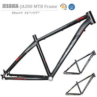 "26er Mountain Bike Frame Aluminum Alloy BB68 Thread QR MTB Bike Frameset 16"" 17"""