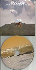 SLUGABED Mountains Come out  w/ 4 REMIXES & UNRELEASED Europe PROMO CD Single