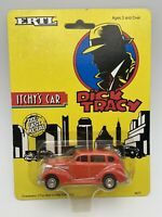 1990 ERTL Dick Tracy Itchy's Car 1:64 Scale Orange FREE SHIPPING
