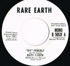 RARE EARTH ma U.S. RARE EARTH 45rpm R-5053F_1973 white label PROMO