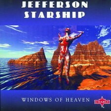CD Album Jefferson Starship Windows Of Heaven (Shadowland, Goddess)