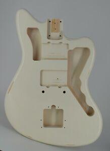 Guitar Body, Aged Nitro Finish, Pine, USA Made, JM, Rosser Guitars, 3.11 lbs