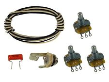 Bajo Jazz/J Premium Kit de cableado CTS, Roble Grigsby, Switchcraft