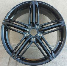 18x8 Black Wheels For Audi A4 A8 Q5 VW CC Jetta GTI 18x8.0 +35 5x112 Rims Set 4