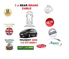 pour Peugeot 3008 1.6 VTI 2009- > 1x arrière frein à main câble