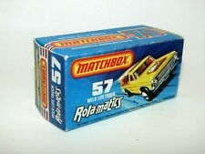 Matchbox Superfast No 57 WILDLIFE TRUCK  FORD Empty Box style J