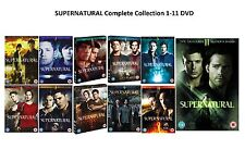 SUPERNATURAL Complete Series Collection 1-11 DVD Season 1 2 3 4  5 6 7 8 9 10 11