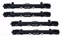 4 x Abdeckung Leiste Gepäck Dachträger Blende Deckel für OPEL ASTRA H ZAFIRA B