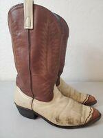 Laredo Flagstaff 61161 Western Cowboy Boots Leather Mens Size 10