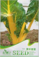 Original Package 30 Yellow Stick Beet Seeds Beta vulgaris Delicious C155