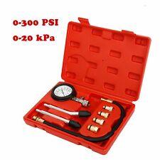 8Pcs Engine Cylinder Pressure Tester Car Compression Gauge Test Tool Kit