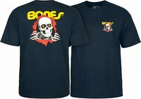 Bones Ripper Powell Peralta Brigade T-Shirt NAVY Skull OG Skateboard M L XL XXL