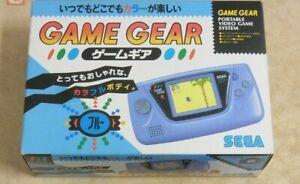 SEGA GAME GEAR Handheld Blue color Console System