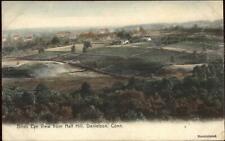 Danielson CT Birdseye From Half Hill c1910 Postcard