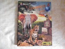 Netto Ozeanien 4 Jetzt wird´s wild ! Sammelalbum inkl.108 Sammelkarten KOMPLETT