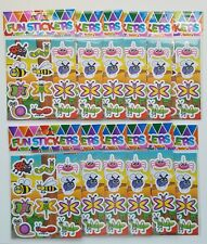 12 x Insect Stickers Sheets- Party Bag Fillers Wedding/Kids/piñata/Toy/birthday