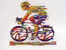 David Gerstein Modern Art Champion Bicycle Racer Metal Print Sculpture bike