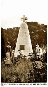 1923 - Zambia - LIVINGSTONE - STANLEY MONUMENTS - Old Chitambo - Ujijii - 05