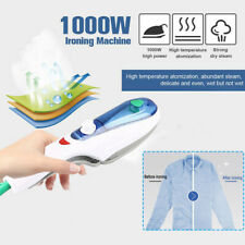 1000W Portable Handheld Electric Steam Iron Fabric Laundry Clothes Steamer Brush