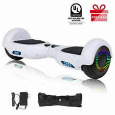 "6.5/8.5"" Two-Motor Bluetooth Hoverboard Off Road Self Balancing Scooter Led Bag"