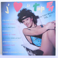 "33T J'AIME LE TOP FM 27 Vinyle LP 12"" Tony BRAM'S -BERGER ROUSSOS GOLDMAN Pin'up"