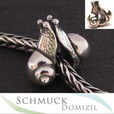 TROLLBEADS Silberbead Verliebte Schnecken / Snails in Love - TAGBE-30088