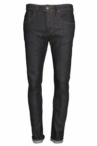 Mens Jeans 883 POLICE Brade 295 Tapered Stretch Jeans | Indigo (Shrink to Fit)